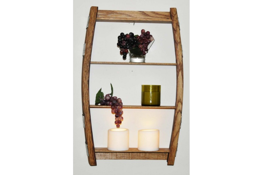 Wine Barrel Stave Display Or Spice Rack Wine Barrel Craft