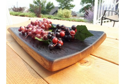 Barrel Stave Serving Platter