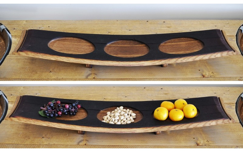 Barrel Stave Tray