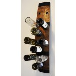 Wine Rack, 12-bottle, wall-mounted