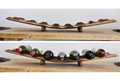 Wine Rack, 7-bottle, Red Side Up